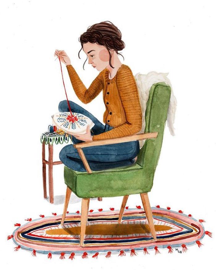 Was kann man machen wenn einem langweilig zu Hause ist, Nähen als Hobby