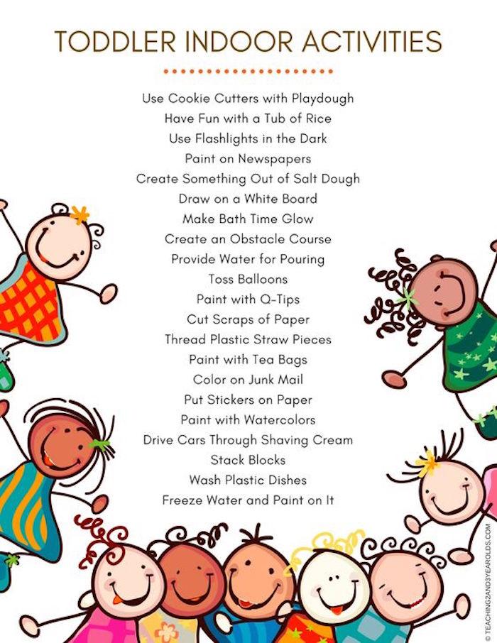 Kinder beschäftigen zu Hause, Spaß für Kleinkinder, Ideen gegen Langeweile für Kinder