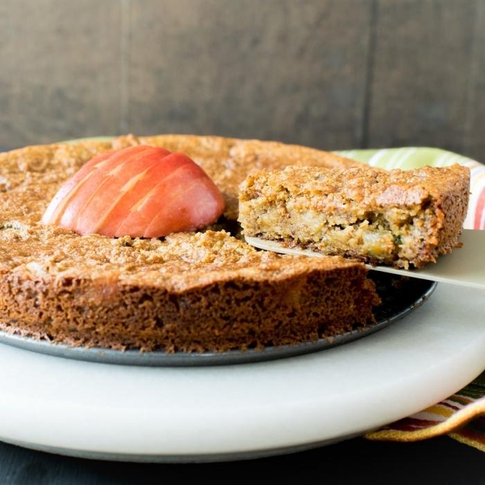 kuchenrezepte ohne butte rund milch, zuckerfreier kuchen, low carb apfelnkuchen, gesund