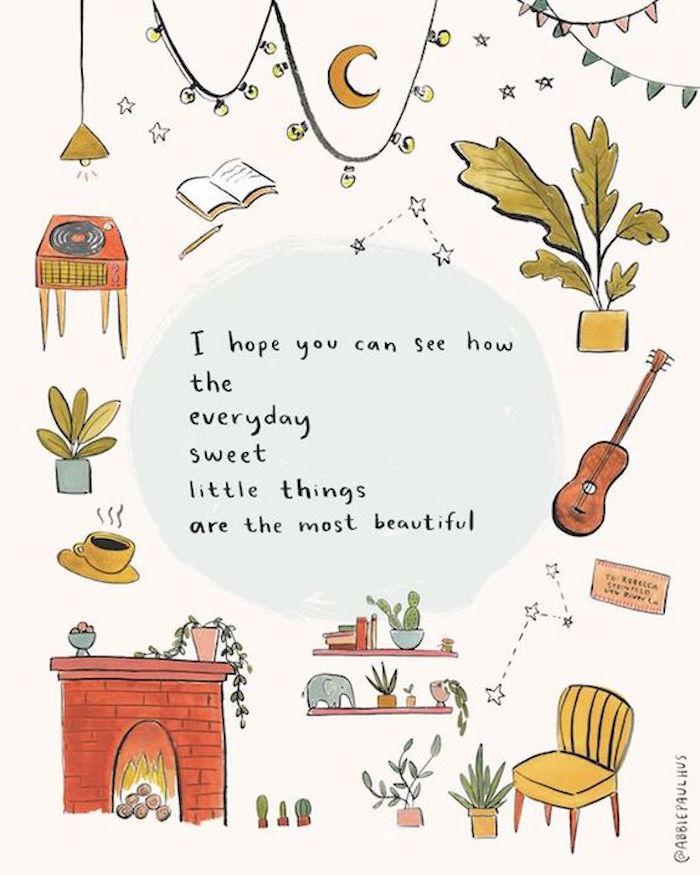 Was machen gegen Langeweile, Schallplatten hören, Bücher lesen, Gitarre spielen, Zimmerpflanzen pflegen
