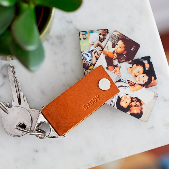 personbalisierte geschenke, dyi geschenk für mann, vatertagsgeschenke ideen, fotos, kinder