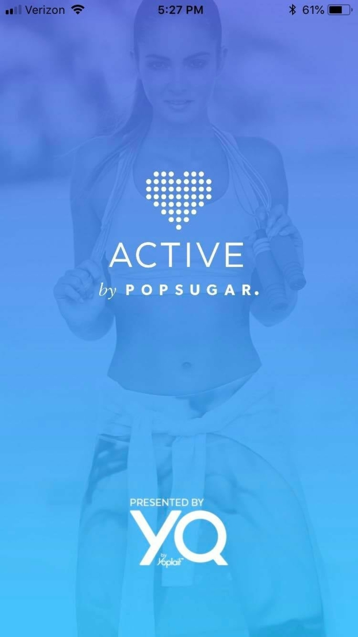 Fitness App kostenlos, Active bu Popsugar, zuhause sport treiben und gesund bleiben,
