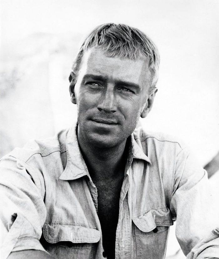 max von sydow ist gestorben, max von sydow in einem schwarzweißen film des schwedischen regisseur ingmar bergman