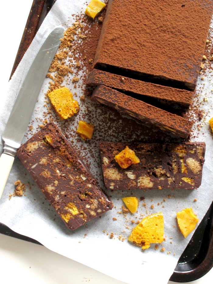 veganer low carb kuchen, zuckerfrei backen, kakaokuchen mit orangen, nachtisch ohne milch und zucker