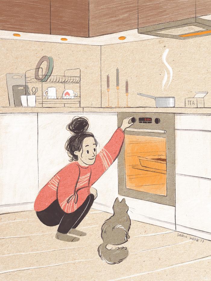 Was tun gegen Langeweile, Kuchen backen, Ideen für Zuhause