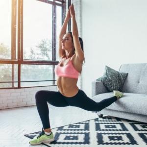 Zu Hause Sport treiben ohne Geräte - Fit und gesund bleiben