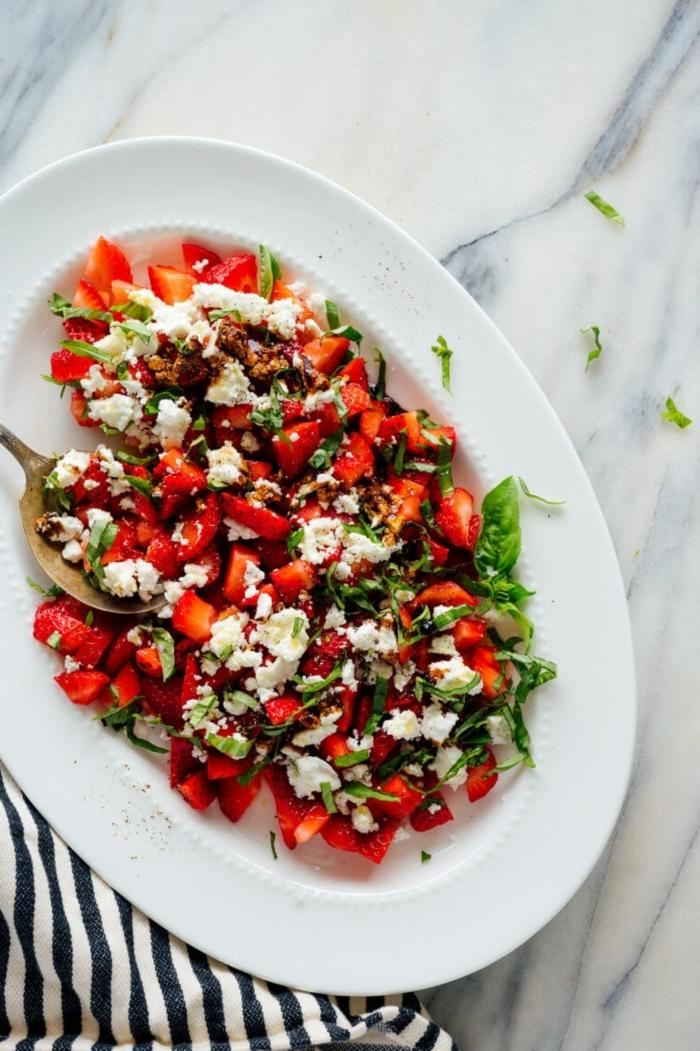 salat rezepte eifnach und schnell, gesundes mittagessen, die besten salatrezepte