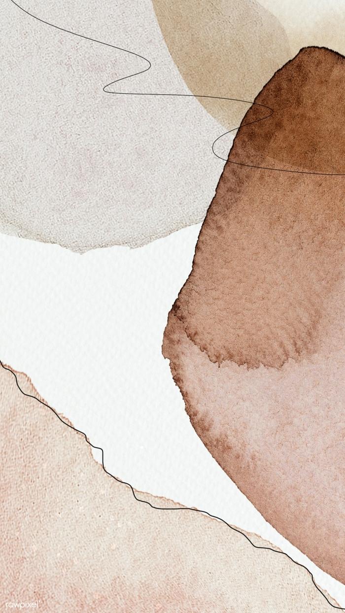 Bild mit abstrakten Zeichnungen in Pastellfarben, Hintergrundbilder für Handy, aesthetic wallpaper iphone