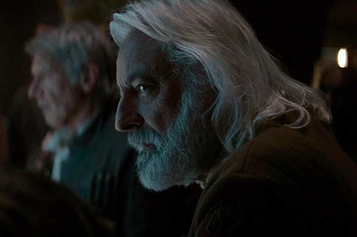 szene aus dem film star wars das erwachen der macht, der schauspieler andrew jack ist augrund des coronavirus gestorben