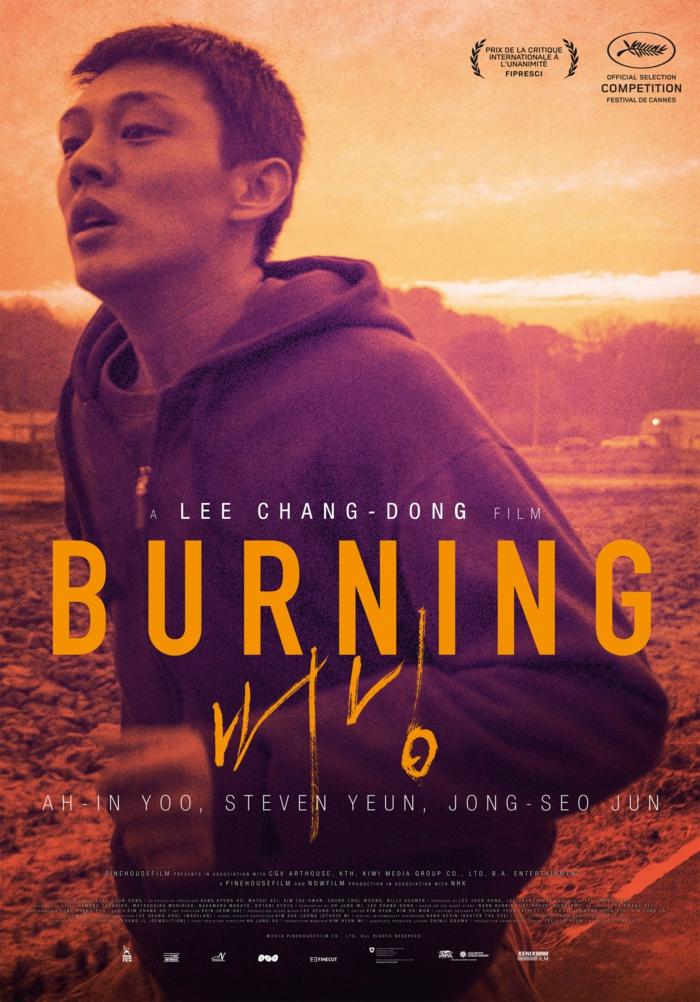 die besten kostenlosen filme bei amazon prime video, der poster zu dem koreanischen film burning von dem regiesseur lee chang dong