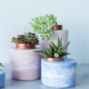 Beton Blumentopf - Kreative Ideen zum Selbermachen
