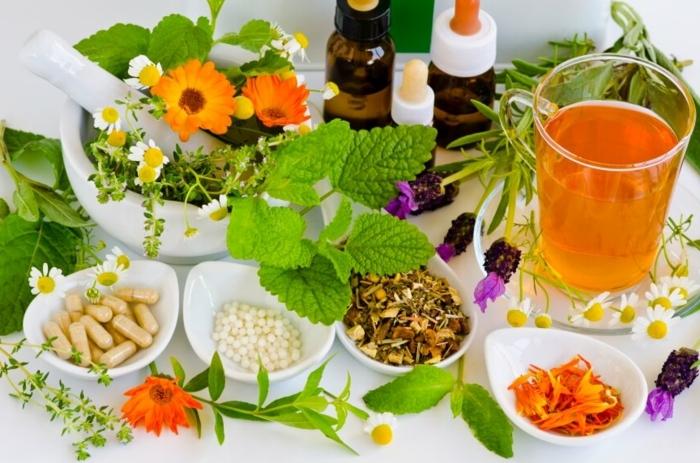stärkung immunsystem druch natürliche mittel, gesunde kräuer, gesundheit