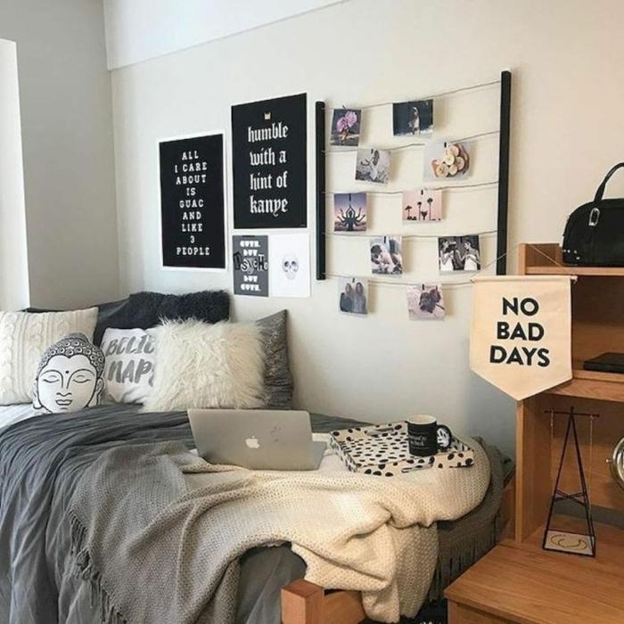 teenager zimmer mädchen, wanddeko schlafzimmer, teenager room dekorieren
