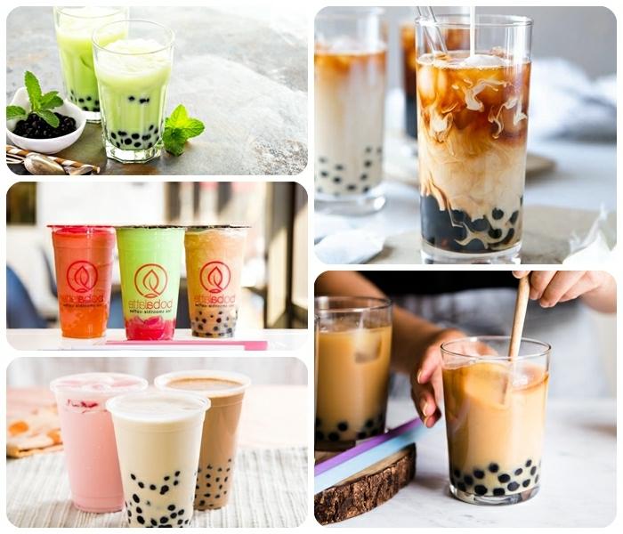 bubble tea selber machen, die besten rezepte, frische sommergetränke