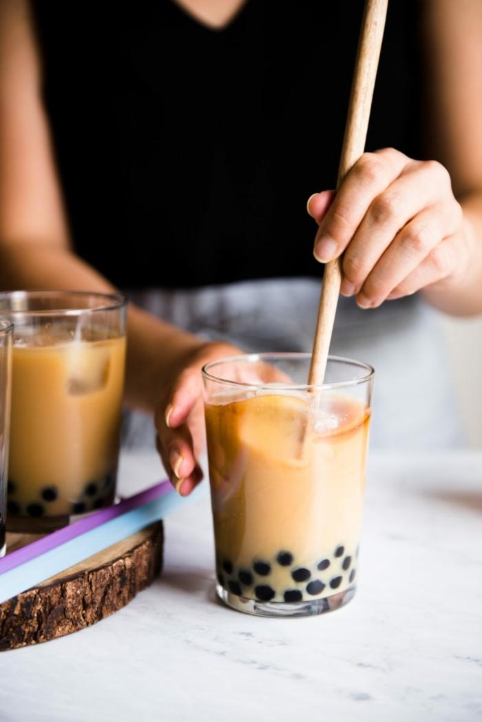 bubble tea selber machen, leckeres sommergetränk, getränke für heiße tage