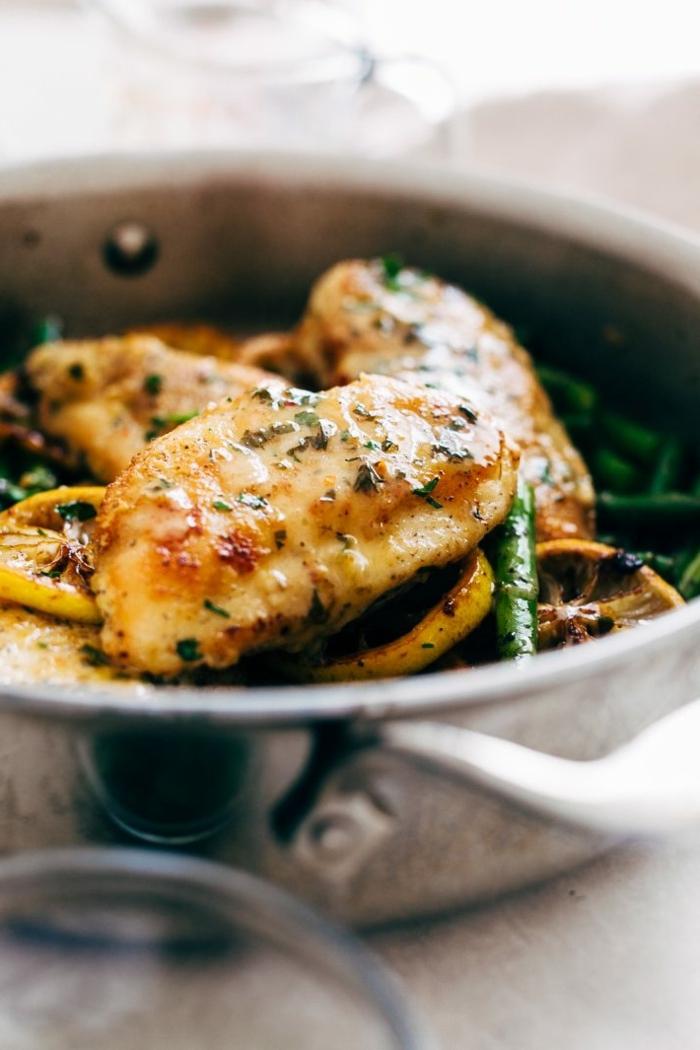 schnelle rezepte ohne kohlenhadrate, high protein low carb reichte, hänchenfleisch mit bohnen