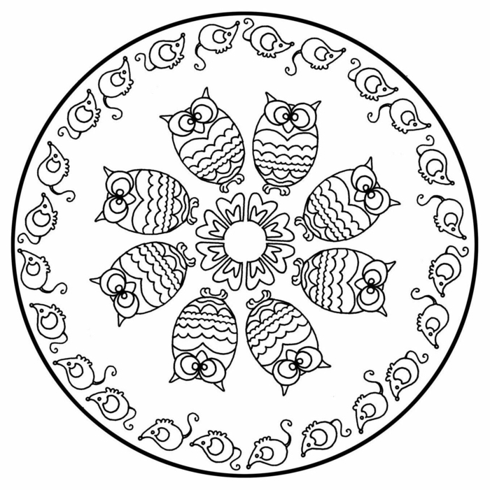 1001 Ideen Fur Originelle Und Kreative Mandalas Fur Kinder