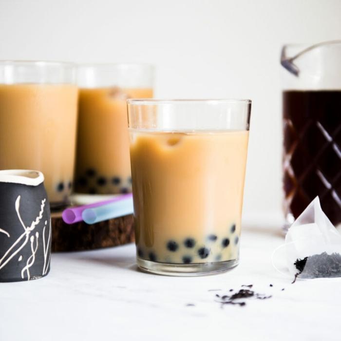 boba tea selber machen, schnelles und leckeres getränk, kalte sommergetränke für heiße tage