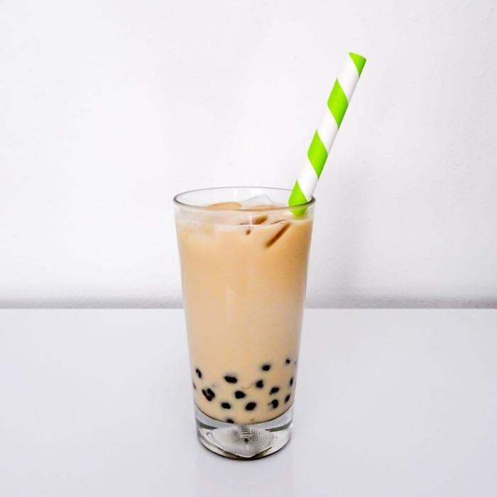 bubble tea sorten, leckeres gesundes getränk mit milch, getränkideen