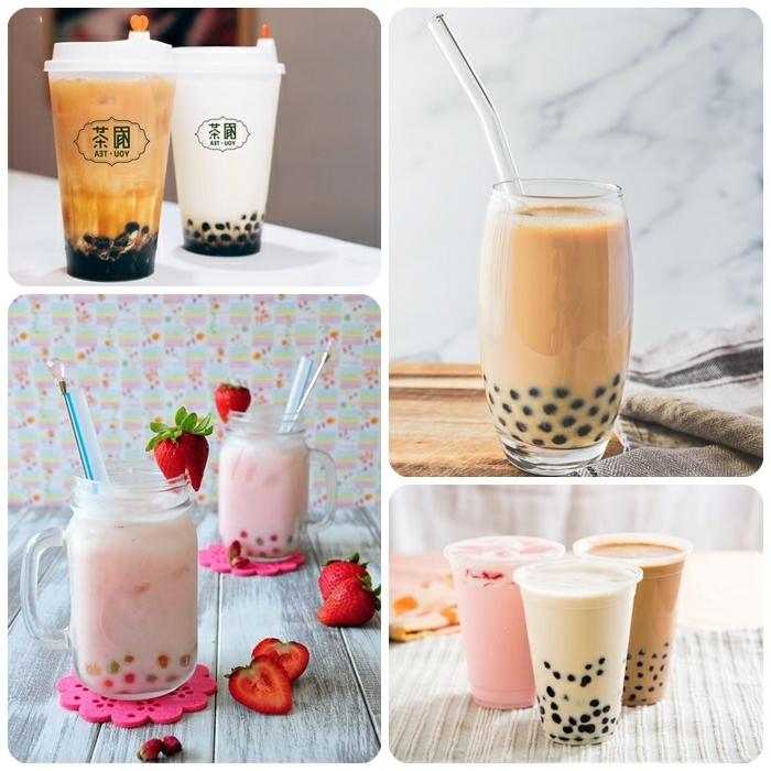 bubble tea tapioca perlen selber machen, gasunde rezepte für den sommer, sommergetränke