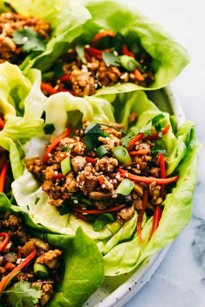 low carb tacos mit hackfleisch und paprika, essen ohne kohlenhydrate rezepte
