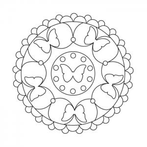 Mandalas für Kinder - Kreative und schöne Bilder zum Ausmalen