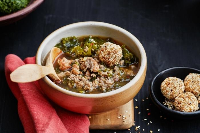 was koche ich heute, rezepte zum abnehmen abdnes, gesunde suppe mit fleischklößchen