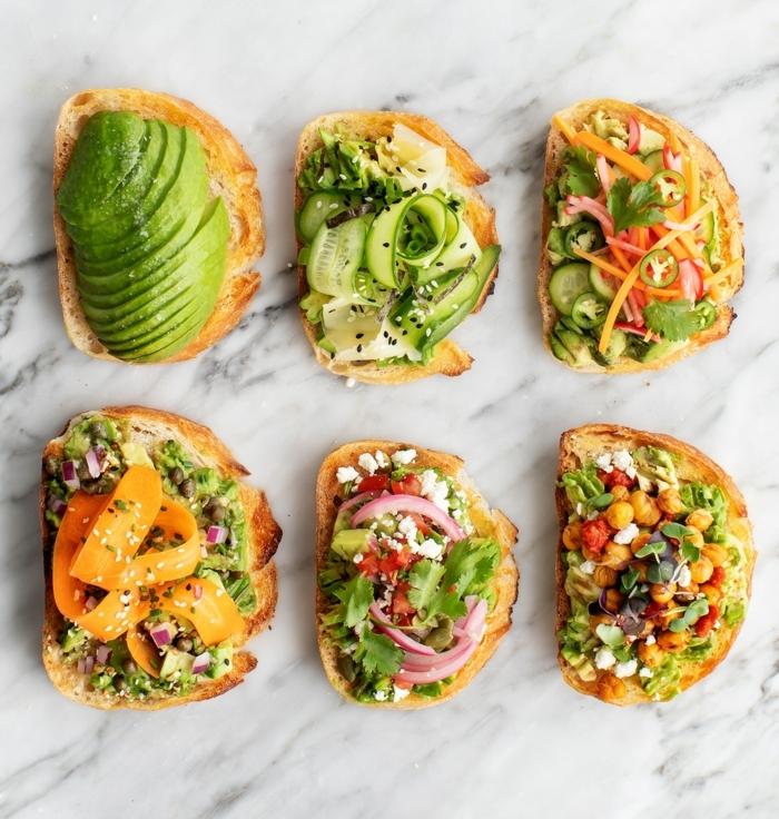 1 rezepte schwangerschaft frühstücksideen gesunde rezepte sandwiches mit avocado gemüse und ziegenkäse