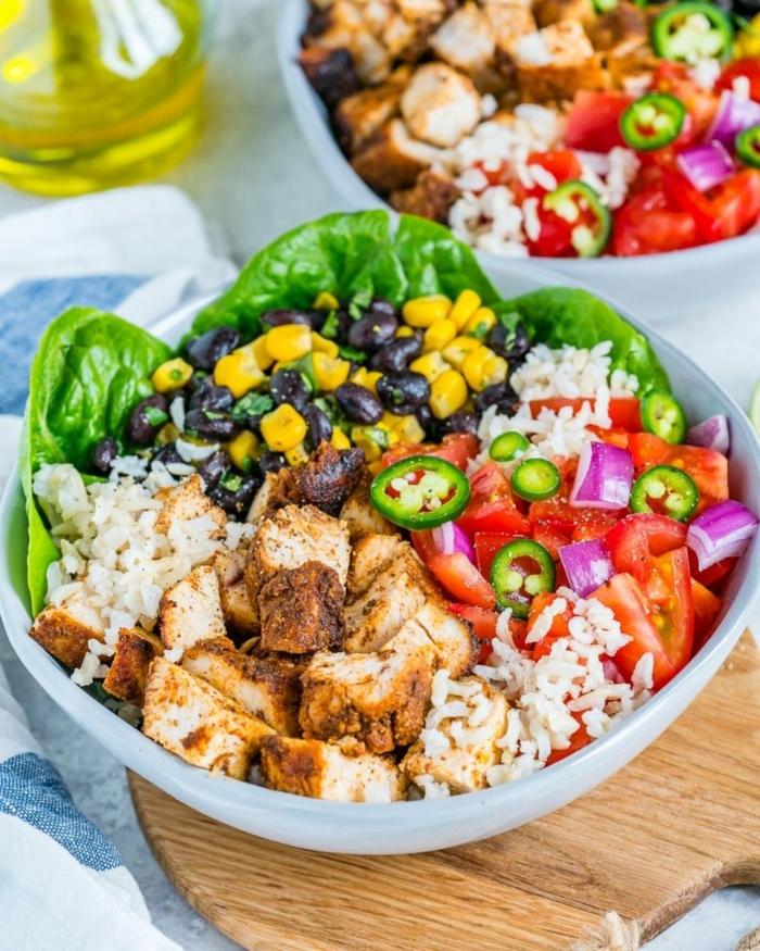1 rezepte schwangerschaft vitaminreiches essen healthy bowl reis mit fleisch und gemüse