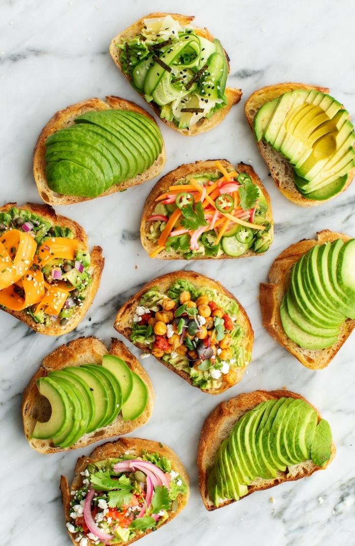 2 gesunde ernährung schwangerschaft leckere sandwiches mit avocado verschiedene varianten