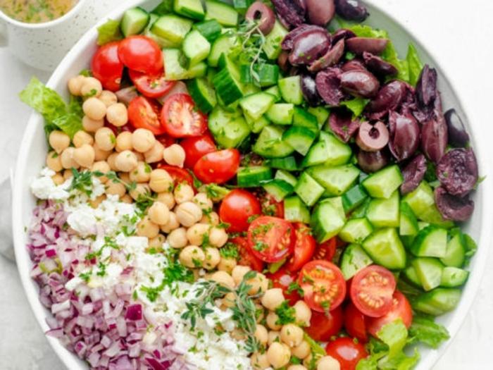 3 ernährung in der schwangerschaft gesunde rezepte für schwangere damen vitaminreiches mittagessen kichererbsen und gemüse