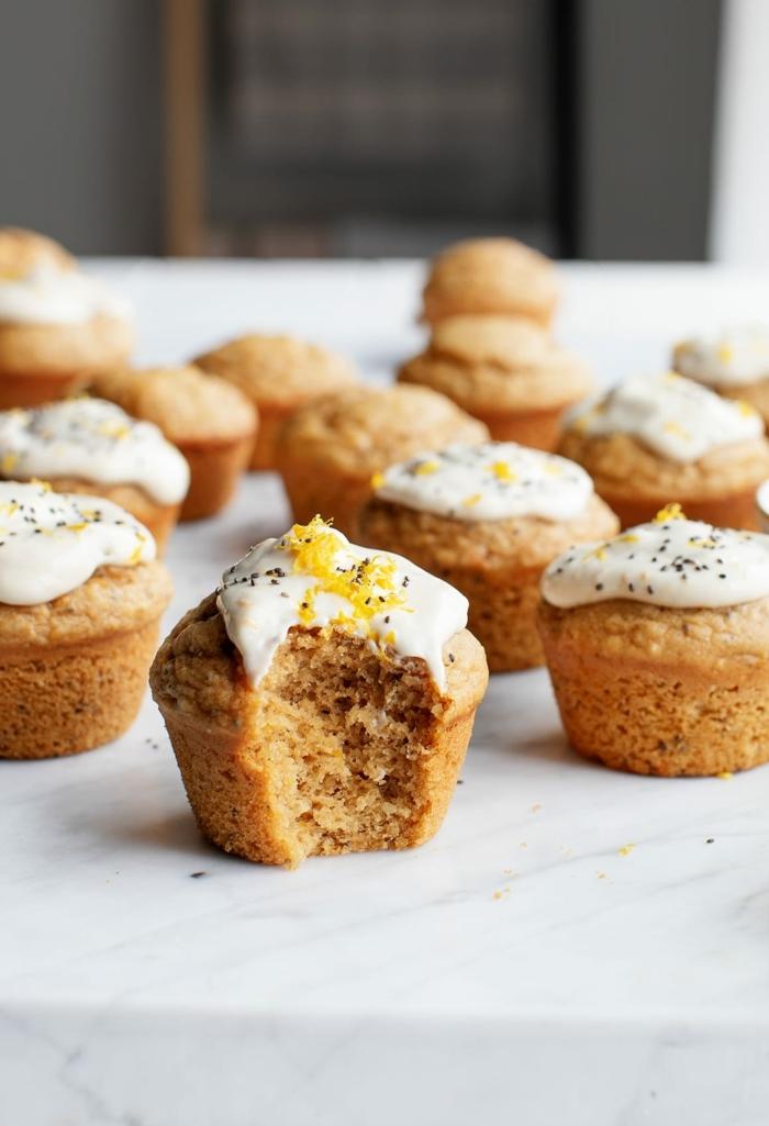 4 rezepte für schwangere gesunde muffins mit vollkornmehl und zitronen nachtisch ideen