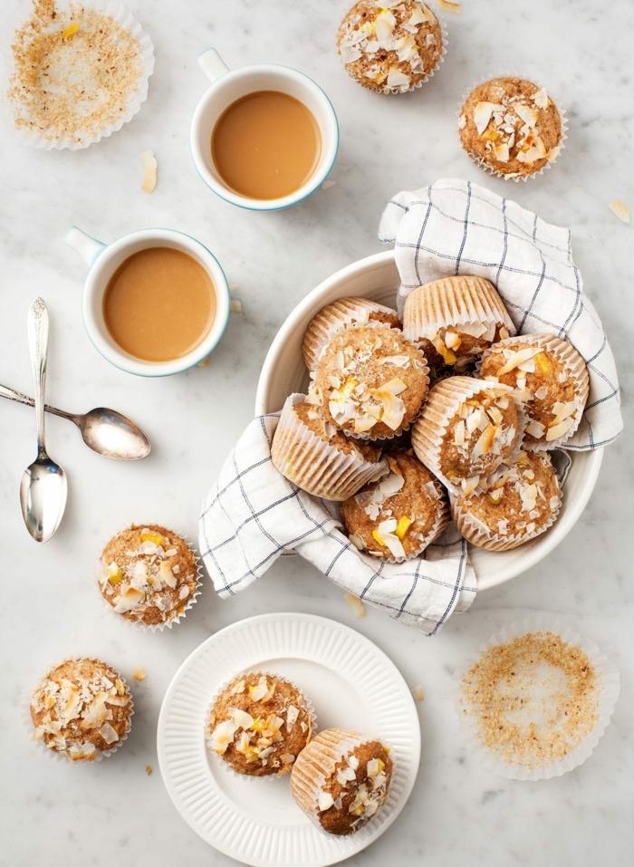 6 ernährungsplan für schwangere gesunde muffins mit erdnussbutter und kokos nachtisch lecker
