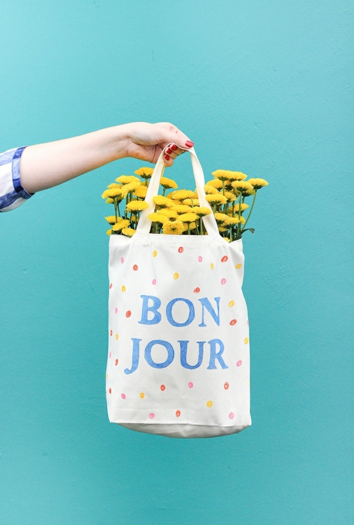 7 taschen nähen anleitung kostenlos bonjour taschendeko handtasche mit geben blumen