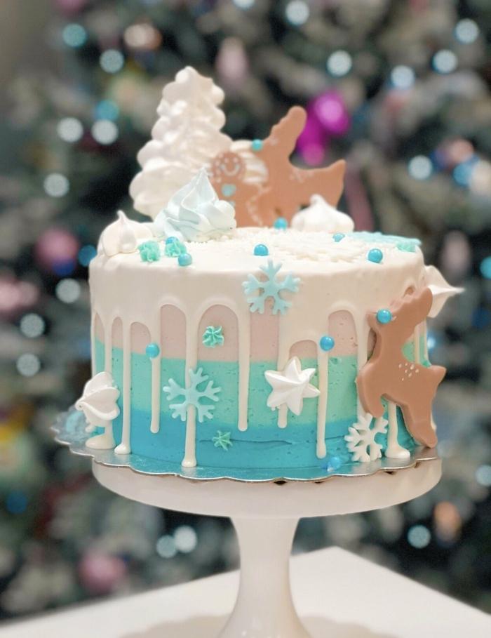 drip cake geburtstag, kindergeburtstag ideenm, geburtstagskuchen mit zimt