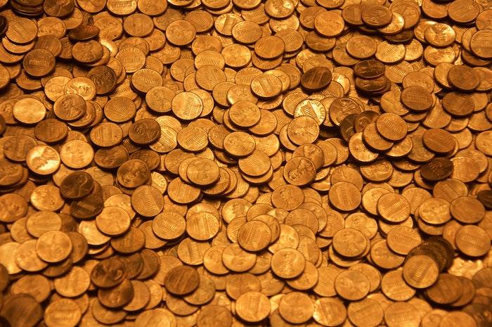 ein wespennest entfernen helfen kupfermünzen gegen wespen viele kleine gelbe und orange kupfermünzen wie kann ich wespen vertreiben