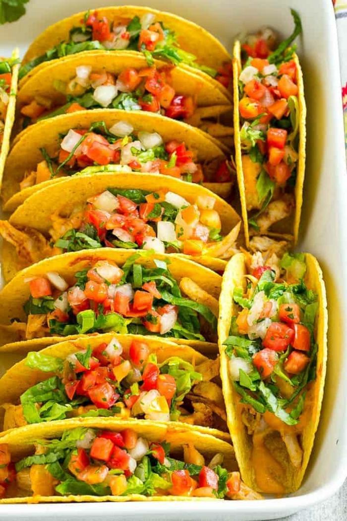 ernährungsplan schwangerschaft gesunde tacos mit tomatensalaza und avocado leckere rezepte