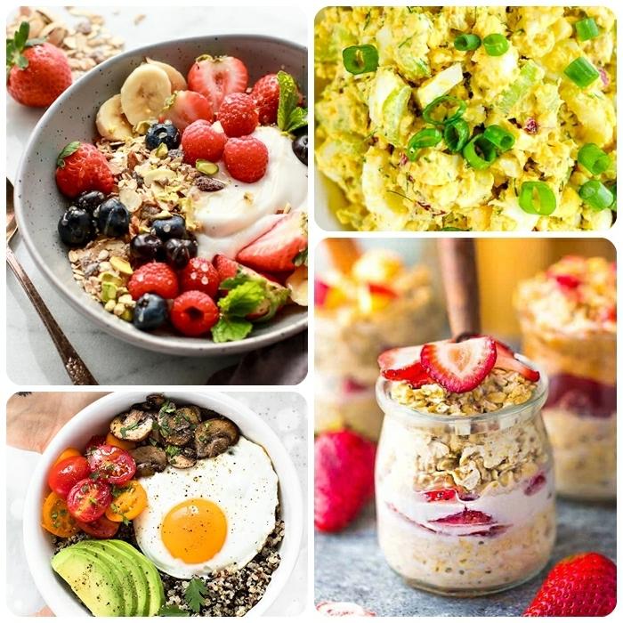 essen für schwangere gesundes frühstück rezepte für schwangerschaft haferflocken eier vitaminreich