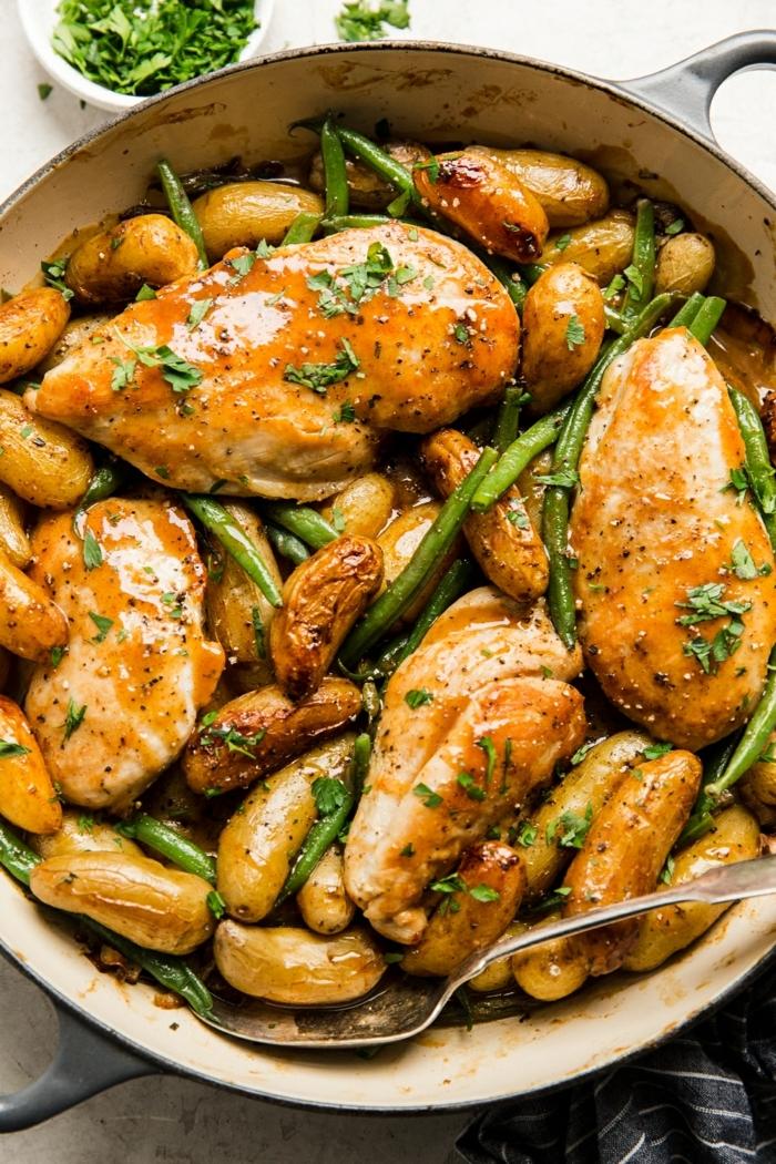 essen für schwangere high protein low carb hänchenfleisch hänchenbrust mit spargeln und soße