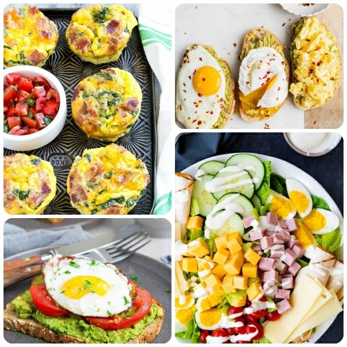 essen für schwangere was esse ich heute schwangerschaft essenideen salzige muffins mit eiern healhty toast