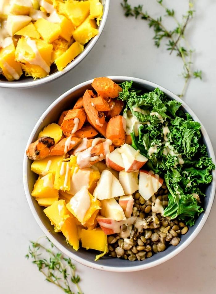gerichte für schwangere damen was esse ich zum mittag vitaminreiches mittagessen healthy bowl