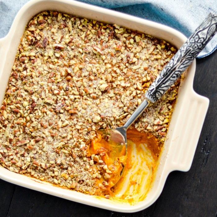 gesunde süßkartoffel rezepte kasserolle paleo vegetarisch vegan ohne zucker kochen köstlich und gesund