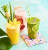 gesunde smoothie rezepte zum abnehmen mit kiwi mango erdbeere gesunde ernährung