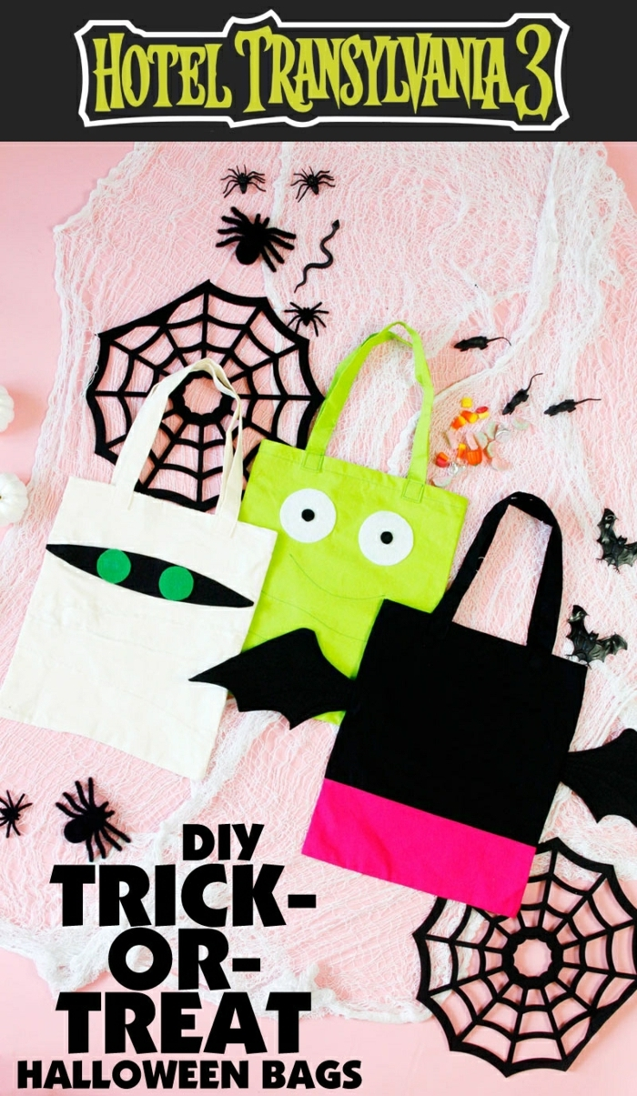 handtasche selber nähen zum halloween halloweendeko ideen diy bastelideen zum fest