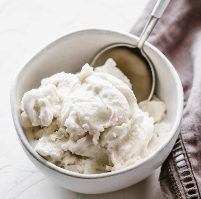 hausgemachtes paleo vanilleeis was ist paleo ernährung leckere ideen nachtisch desserts