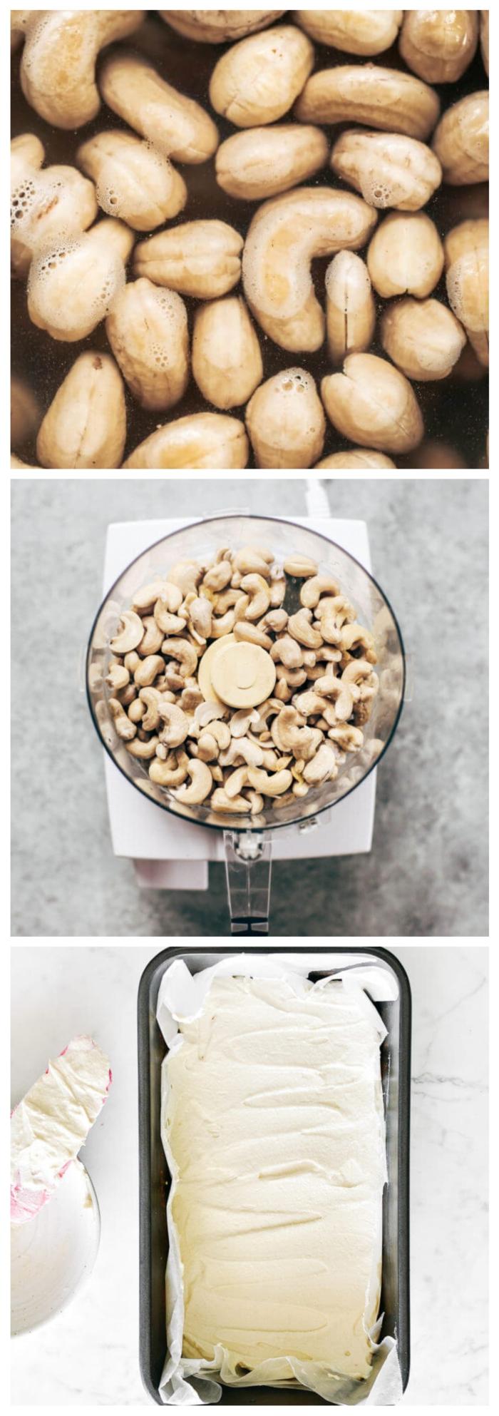 paleo vegetarisch frischkäse selber machen vegan und gesund rezept mit cashews kochen ideen