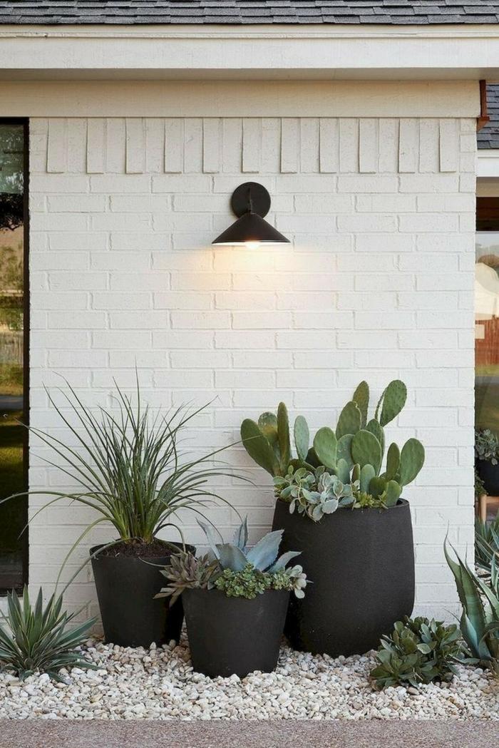 schöne gärten außeneinrichtung inspiration gartengestaltung beispiele und bilder deko ideen mit steinen im garten