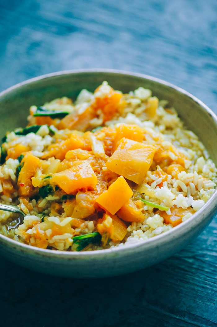 schnelle paleo ernährungsplan milchfrei glutenfrei butternusskürbis curry mit gemüse köstliche gerichte