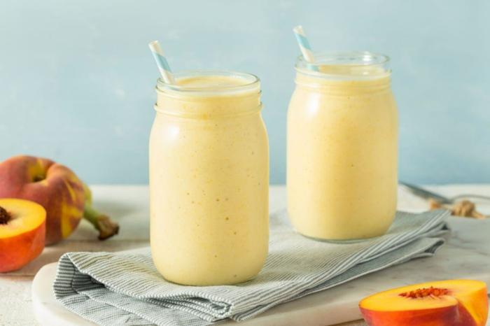 smoothie selber machen rezepte frühstück banane spinat ingwer avocado gurke