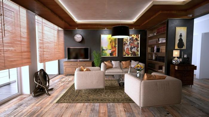 vorteile der plissees als sicht und sonnenschutz, wohnzimmer einrichten, wohnzimmergesaltung